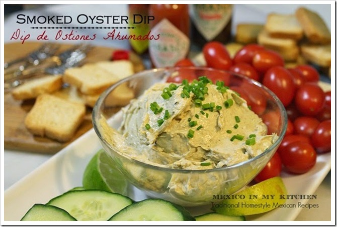 Summer Holiday Recipe | oyster dip ostiones ahumados