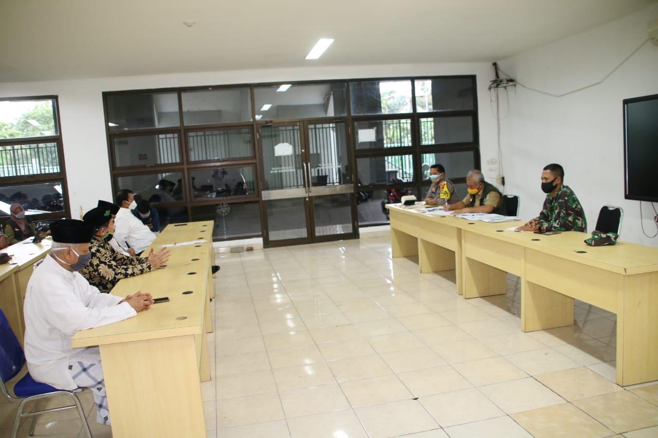 Rakor Wali Kota Bekasi dengan MUI Kota Bekasi Mengenai Shalat Idul Fitri di Pandemi Covid 19