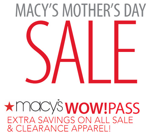 Macy's mothers day coupon