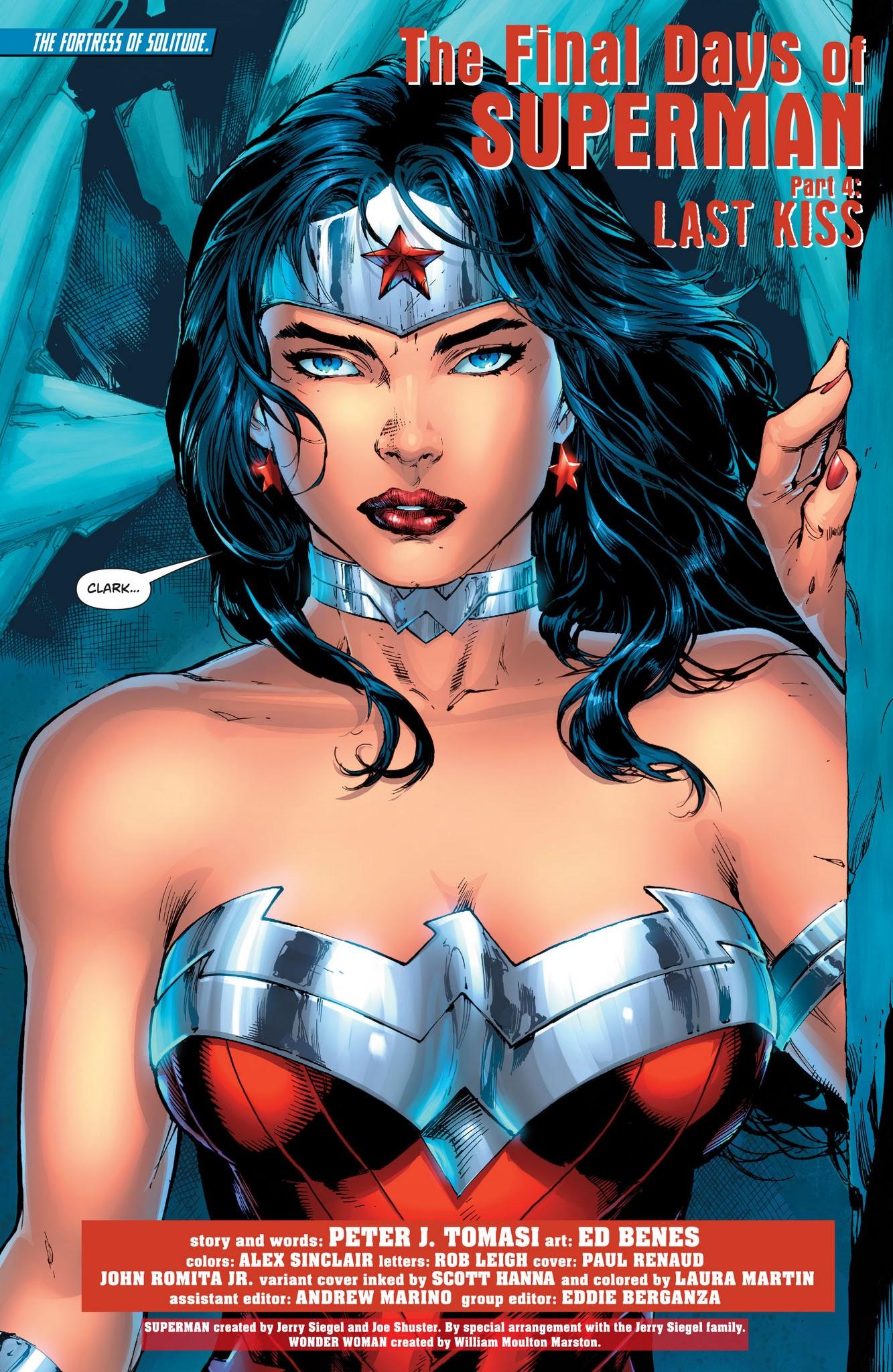 Superman Wonder Woman 28 English The Final Days Of Superman