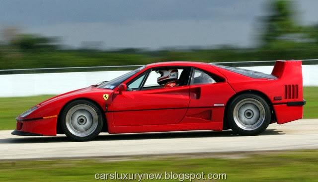 1987-1992 Ferrari F40 on Track