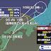 台風9号、広島県呉市付近に再上陸 …中心から離れた所で大雨・雷・突風