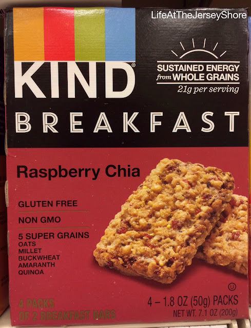 Life At The Jersey Shore: New! KIND Breakfast Bars