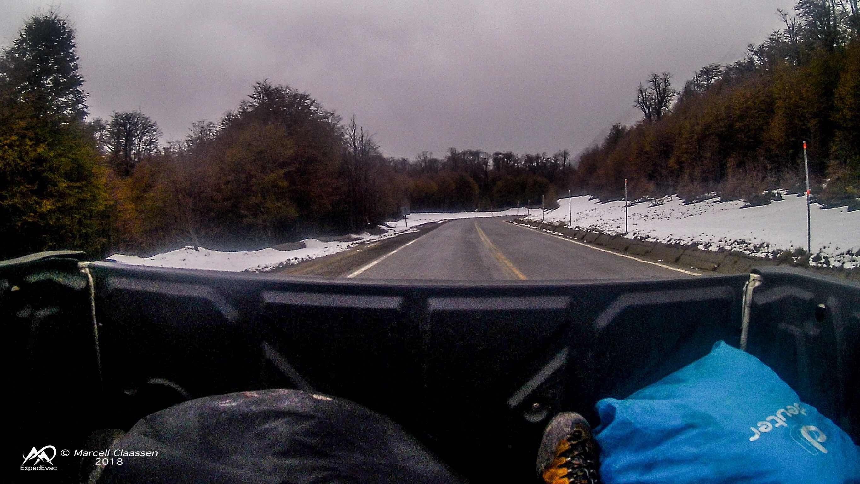 Snowy 4x4 ride