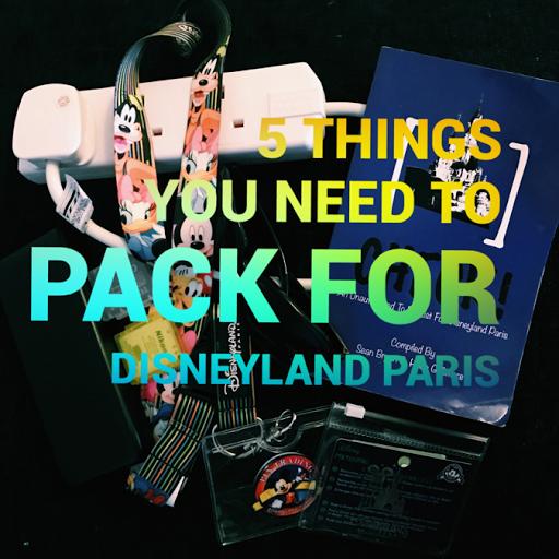 Disneyland Paris packing