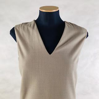 *SALE* Calvin Klein Collection V-Neck Sheath Dress