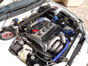 Mitsubishi Evo 6 - Engine Bay