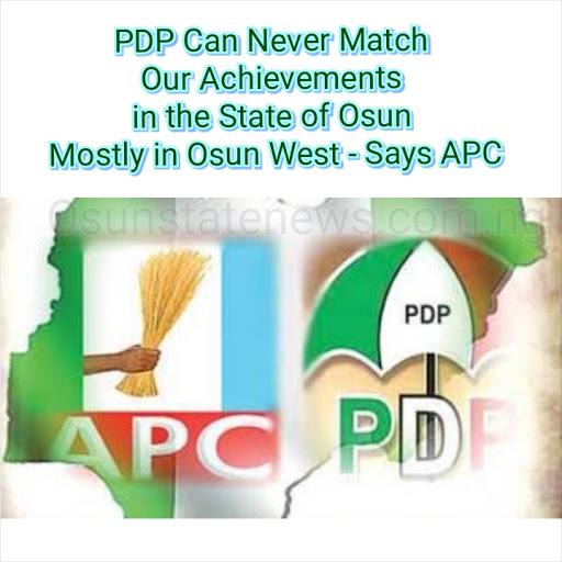 Osun breaking news   APC and PDP