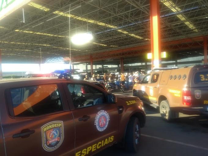 Policial Militar é morto a tiros em  estacionamento do Atacadão, em Juazeiro (BA)