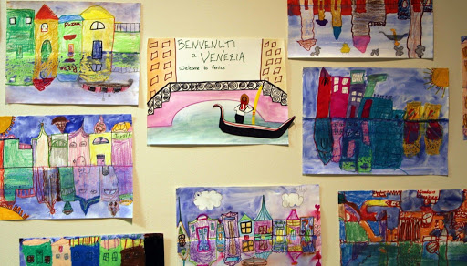 Art about Venice, by kids. From Exposing children to the arts - An Open Letter to Fine Art Museum Directors