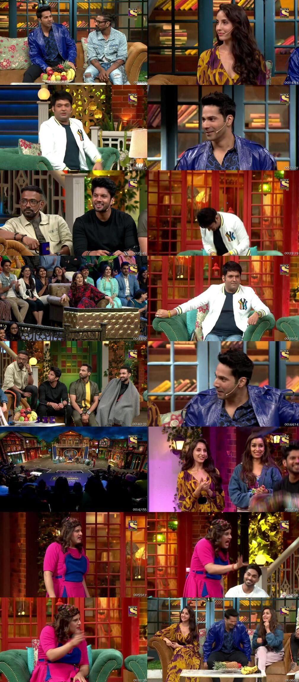 Screen Shot Of The Kapil Sharma Show 19th January 2020 Season 02 Episode 109 300MB Watch Online