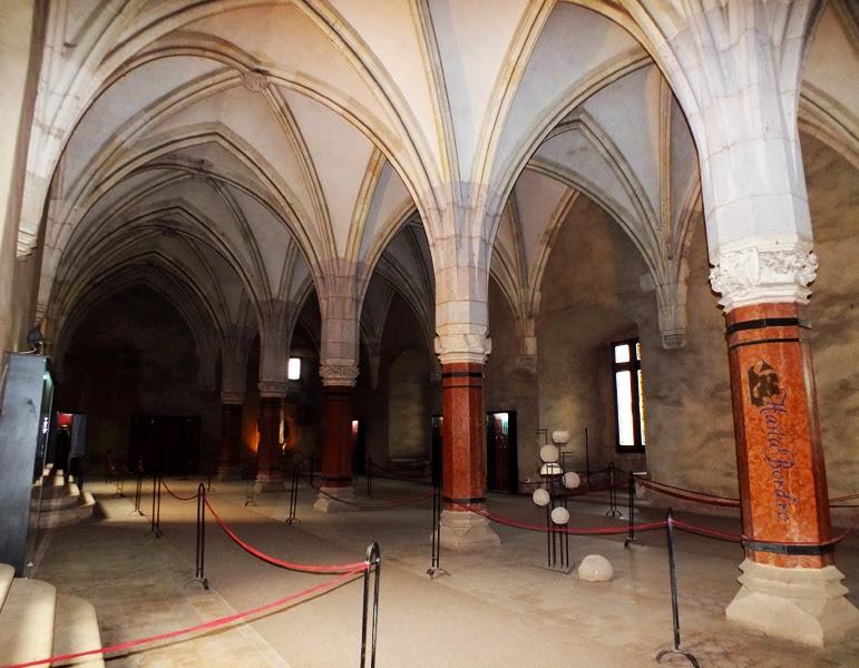 sala cavalerilor castel hunedoara