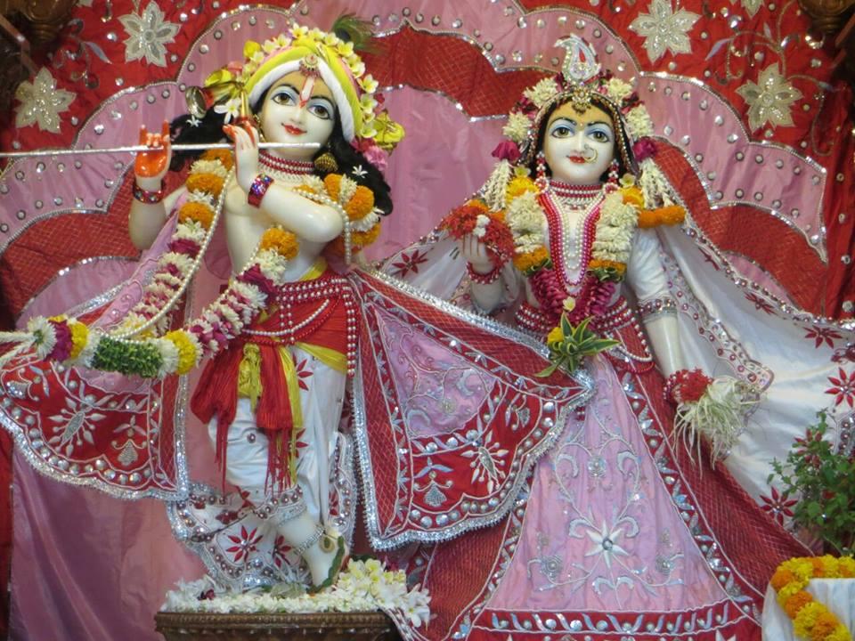 ISKCON Aravade Deity Darshan 12 May 2016 (1)