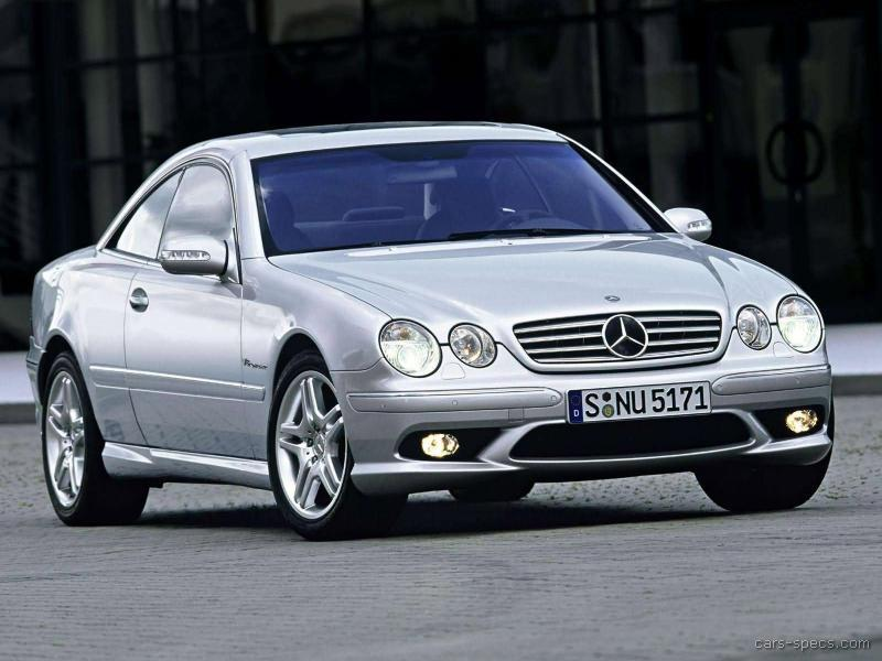 2006 mercedes benz cl class cl55 amg specifications