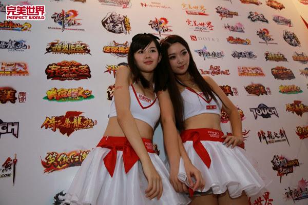 Ngắm dàn mỹ nữ của Perfect World tại ChinaJoy 2013 16
