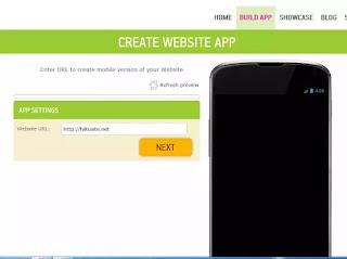 blog বা website এর জন্য android apps