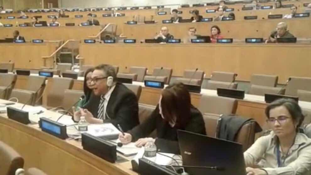 Ventura Camejo señala en la ONU necesidad de gobiernos de asumir nuevo contrato social con la ciudadanía