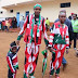 Photos: To vote, family steps out in outfit made with the Kenyan National flag
