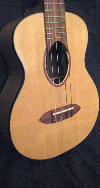 Daniel Richter Dragonfly guitars tenor ukulele