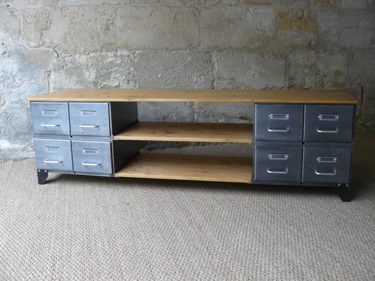 meubles tv industriel composition au choix mai k meuble prix