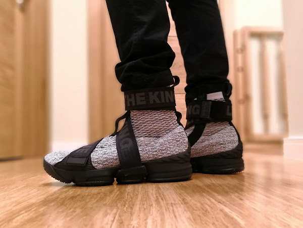 Nike LeBron 15 Kith Concrete  OnFeet Look
