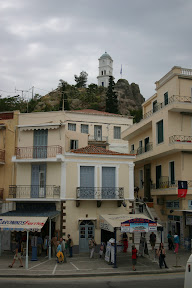 Poros and its clock tower