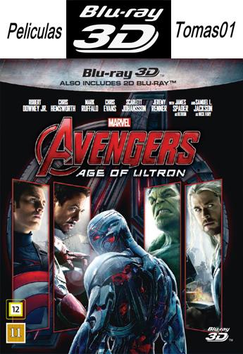 Avengers 2: Era de Ultrón (2015) (AC3 5.1) (3D SBS/BDRip 3D SBS)