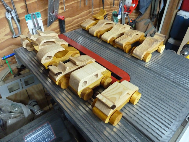 Handmade Wooden Toy Cars From The Speedy Wheels Series