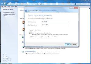 Screenshot 5 - Membuat Koneksi VPN PPTP di Windows