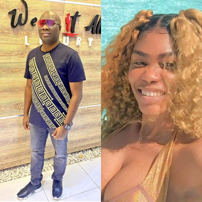 """""""I'm a married man and I don't do gays"""" Mompha reacts to allegations he dated Bobrisky as he threatens to sue Bob's former PA, Oye"""