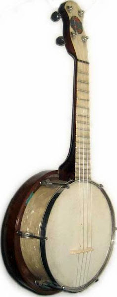 A&J M of London Broadcaster Banjolele