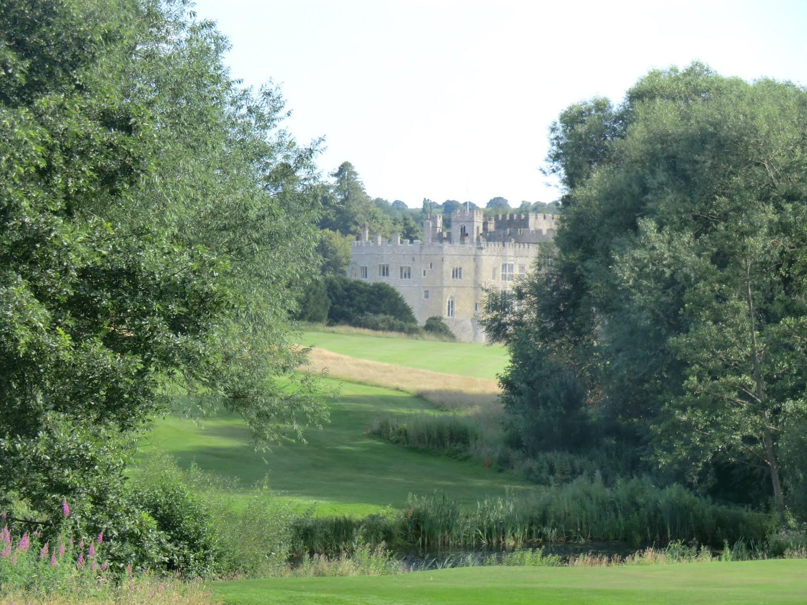 CIMG3017 Across the golf course, Leeds Castle
