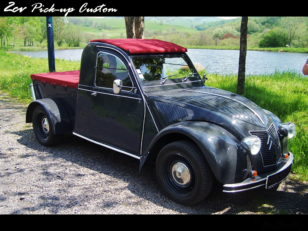 dabeny  construction de mon pick-up 2cv  - page 5
