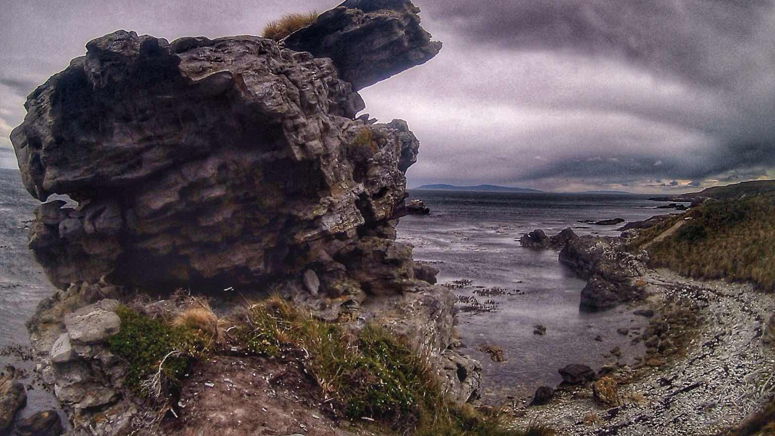 Mitre coastline