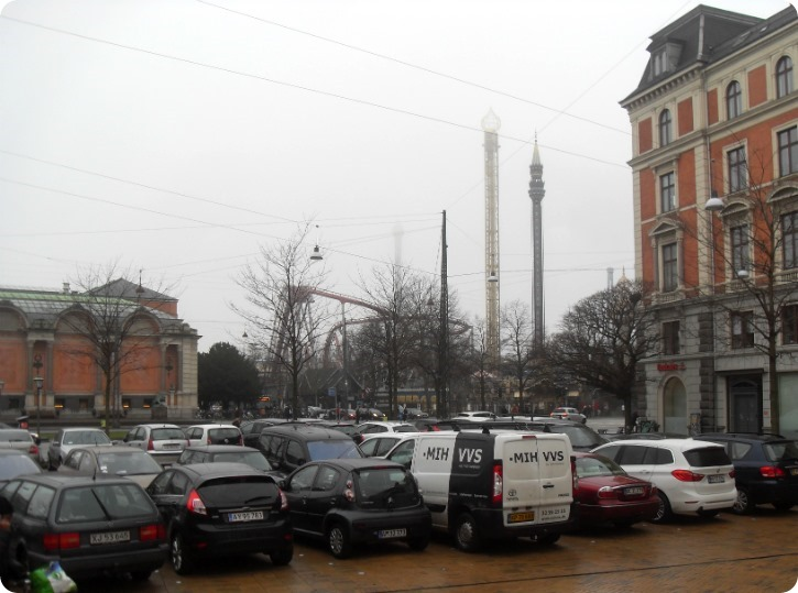 Tåge i København