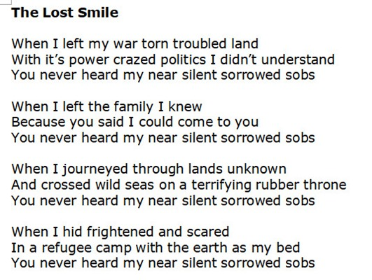 lost smile excerpt