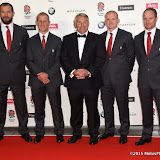 OIC - ENTSIMAGES.COM - Andy Farrell, Stuart Lancaster, Jason Leonard, Graham Rowntree and Mike Catt at the  Carry Them Home - rugby dinner (Suits provide by Eden Park) at the Grosvenor House London 5th August 2015 Photo Mobis Photos/OIC 0203 174 1069