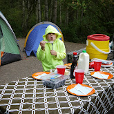 Camping on Lopez Island