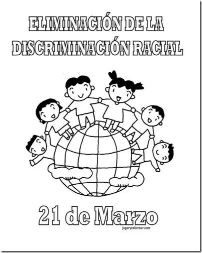 eliminacion discriminacion recial jugarycolorear (4)