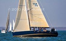 J/122 sailing Lake Texoma, Texas