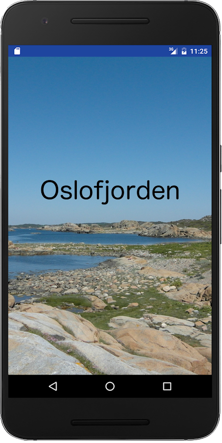 Oslofjorden Tour Guide- screenshot