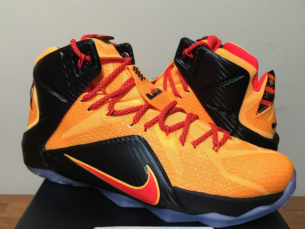 wholesale dealer 80029 9c2f6 One More Look at CLE aka WITNESS Nike LeBron 12 ...