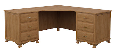 Prairie L-Shaped Desk