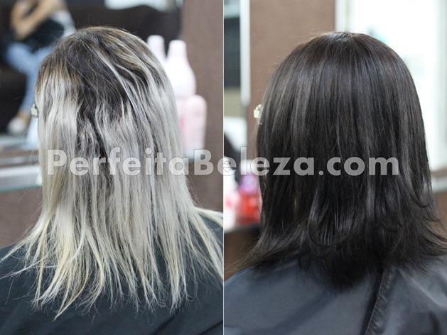 como escurecer o cabelo loiro