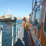 The tug under tow by the ALB - Training exercise, 19 February 2012