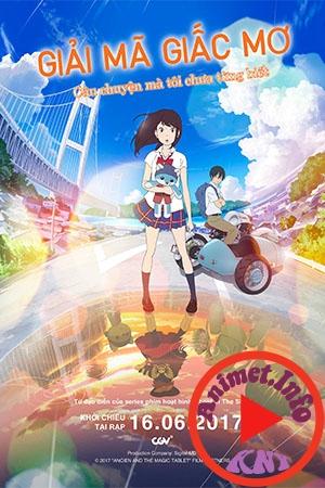 Hirune Hime: Shiranai Watashi no Monogatari - Giải mã giấc mơ, Ancien and the Magic Tablet, Napping Princess: The Story of the Unknown Me