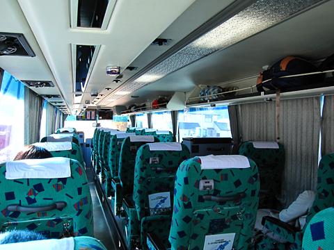 道北バス「流氷もんべつ号」 1026 車内 その2