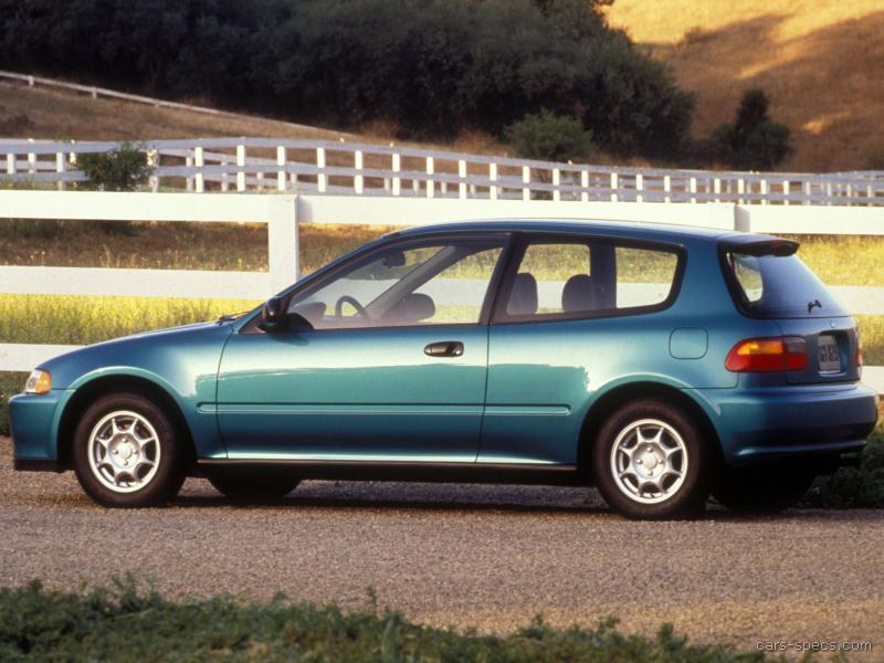 Beautiful ... 1992 Honda Civic Hatchback 00004 ...