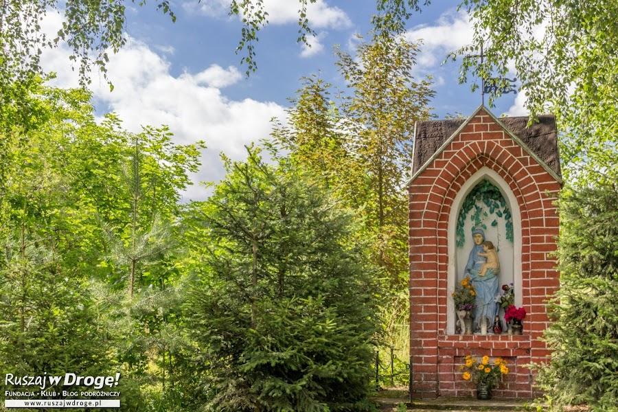 Warmińska kapliczka w Krośnie koło Ornety