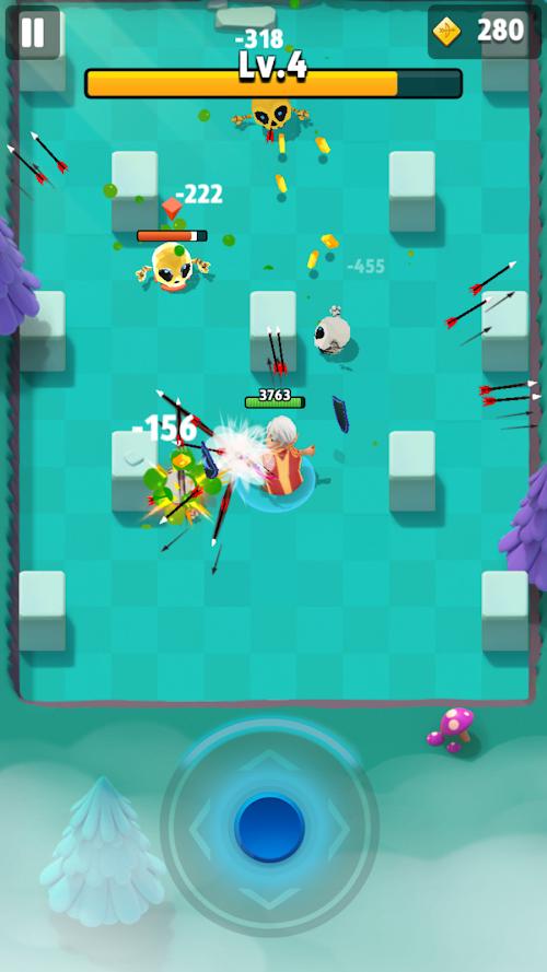 Screenshot 2 Archero 1.0.9 APK MOD